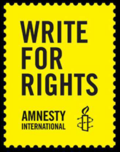 Write For Rights -- Amnesty International