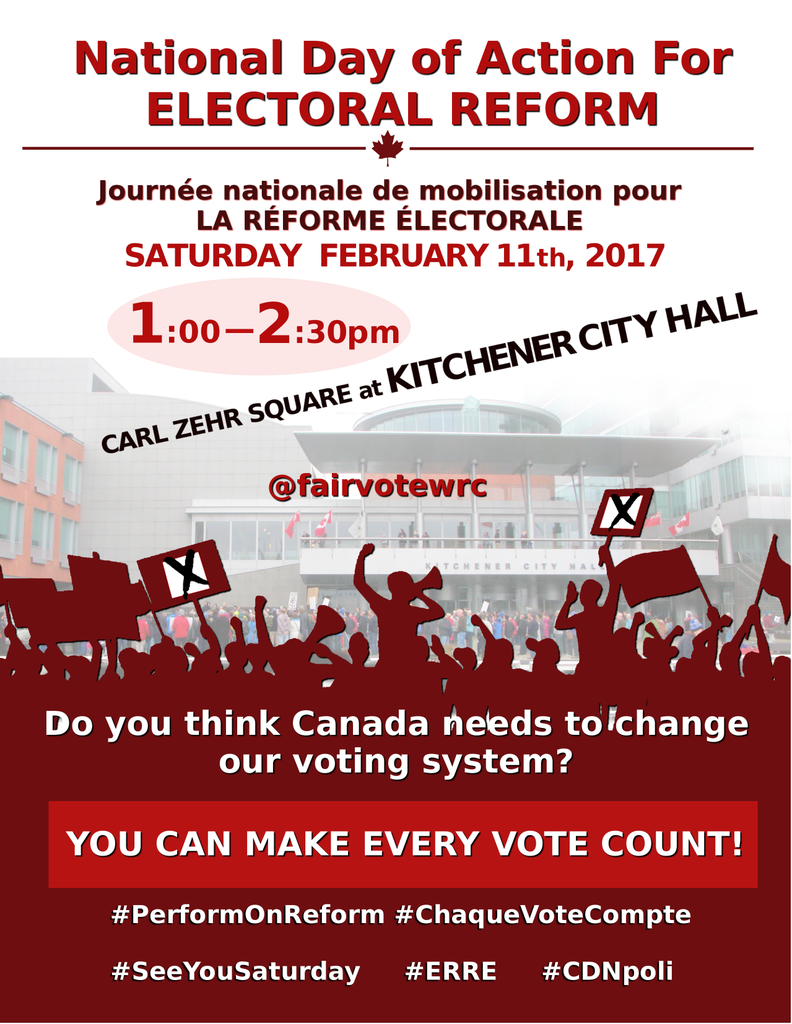 National Day of Action for Electoral Reform