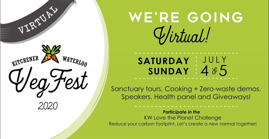 KW Vegfest 2020 | We're Going Virtual! | Saturday 4 July 2020 | Sunday 5 July 2020