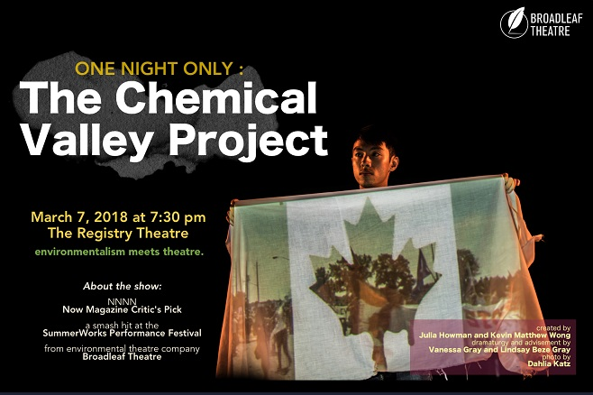The Chemical Valley Project @ Registry Theatre | Kitchener | Ontario | Canada